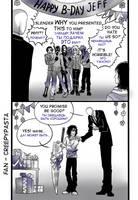 Fan Jeff the killer -B-Day- by Ashiva-K-I