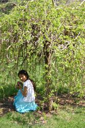 Mai under the willow bush 4 by utakepics2