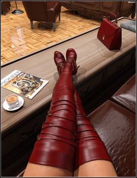 Katharina's Phone: Red boots