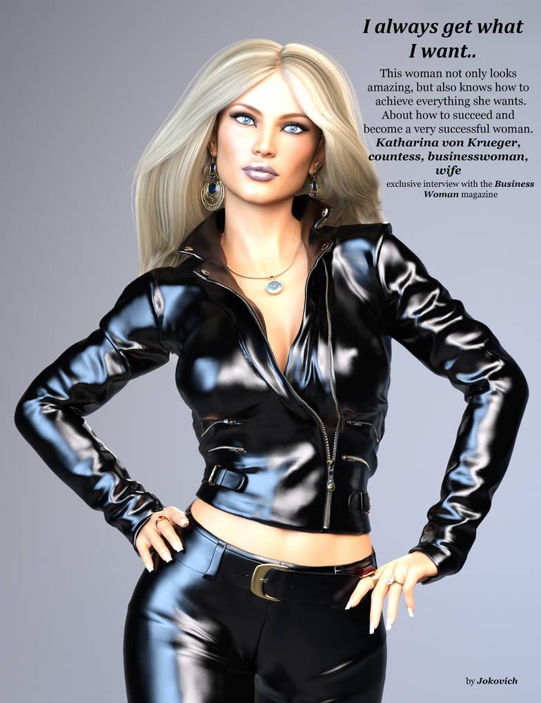 Katharina in the magazine 01