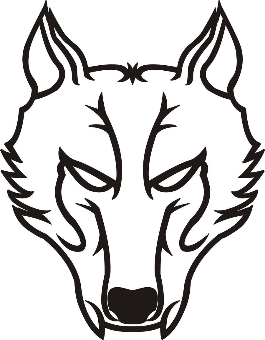 Tribal Wolf by timteam...