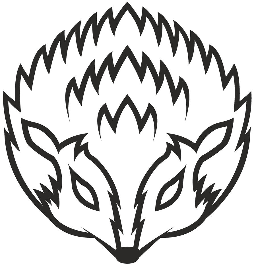 Tribal Hedgehog by timteam88 on DeviantArt