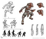 Scout concept | Sketches and iterations