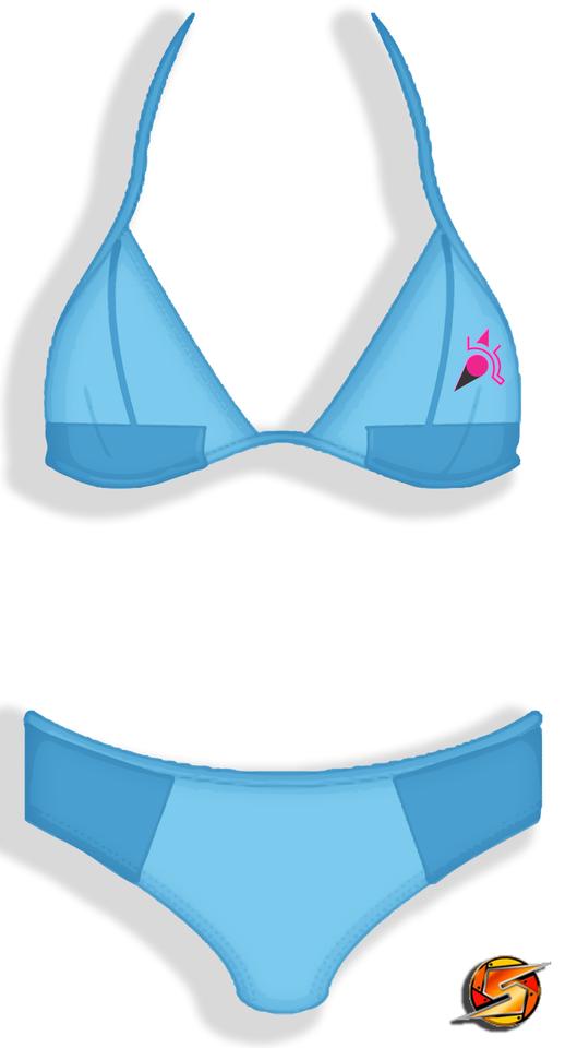 Zero suit samus bikini