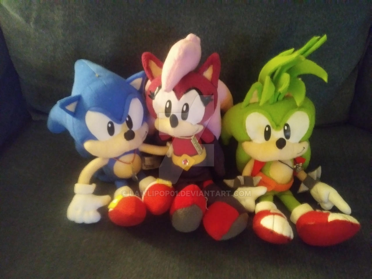 Sonic Underground Plushies By Lawlipop01 On Deviantart