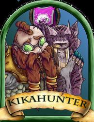 Kikahunter Blizzcon Badge by Pavnix