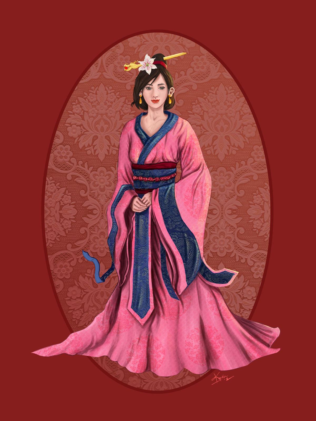 Fa Mulan by kevywk on DeviantArt