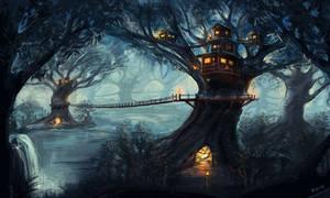 Tree Dwellers by kevywk