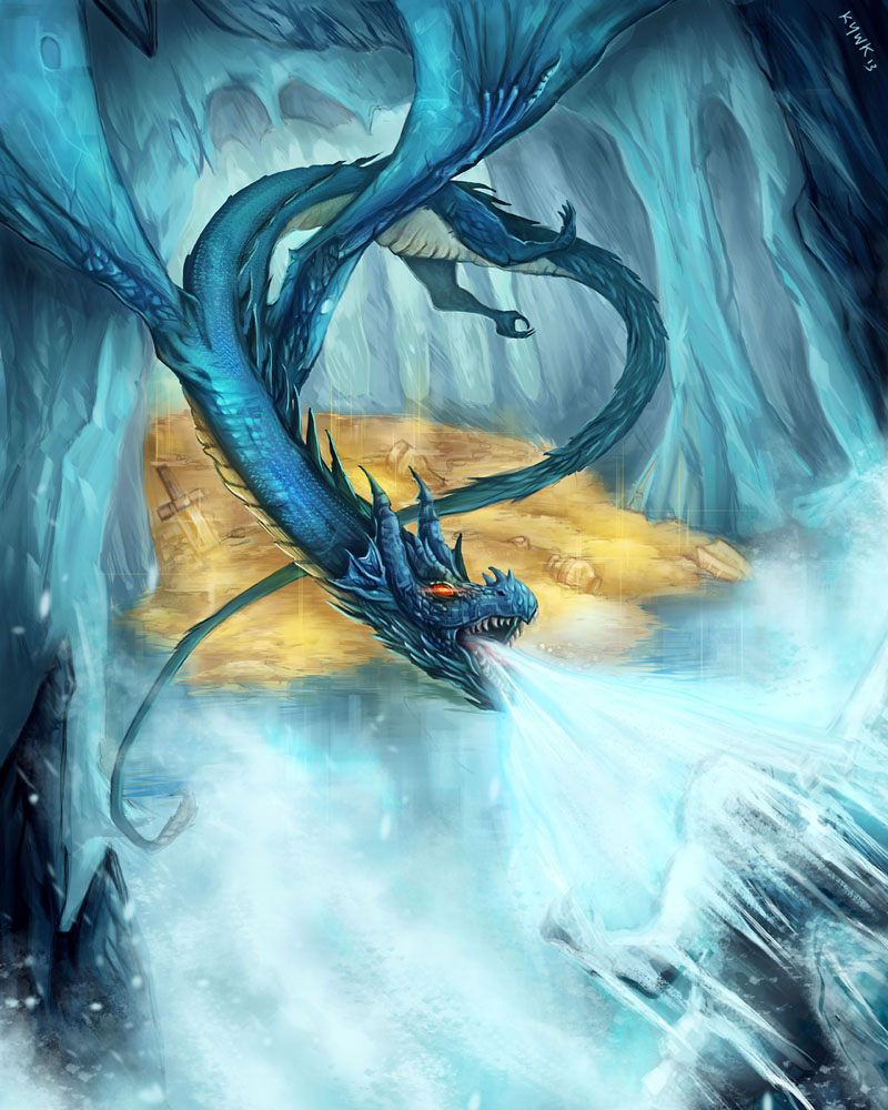 Frost Dragon: Frost Dragon By Kevywk On DeviantART
