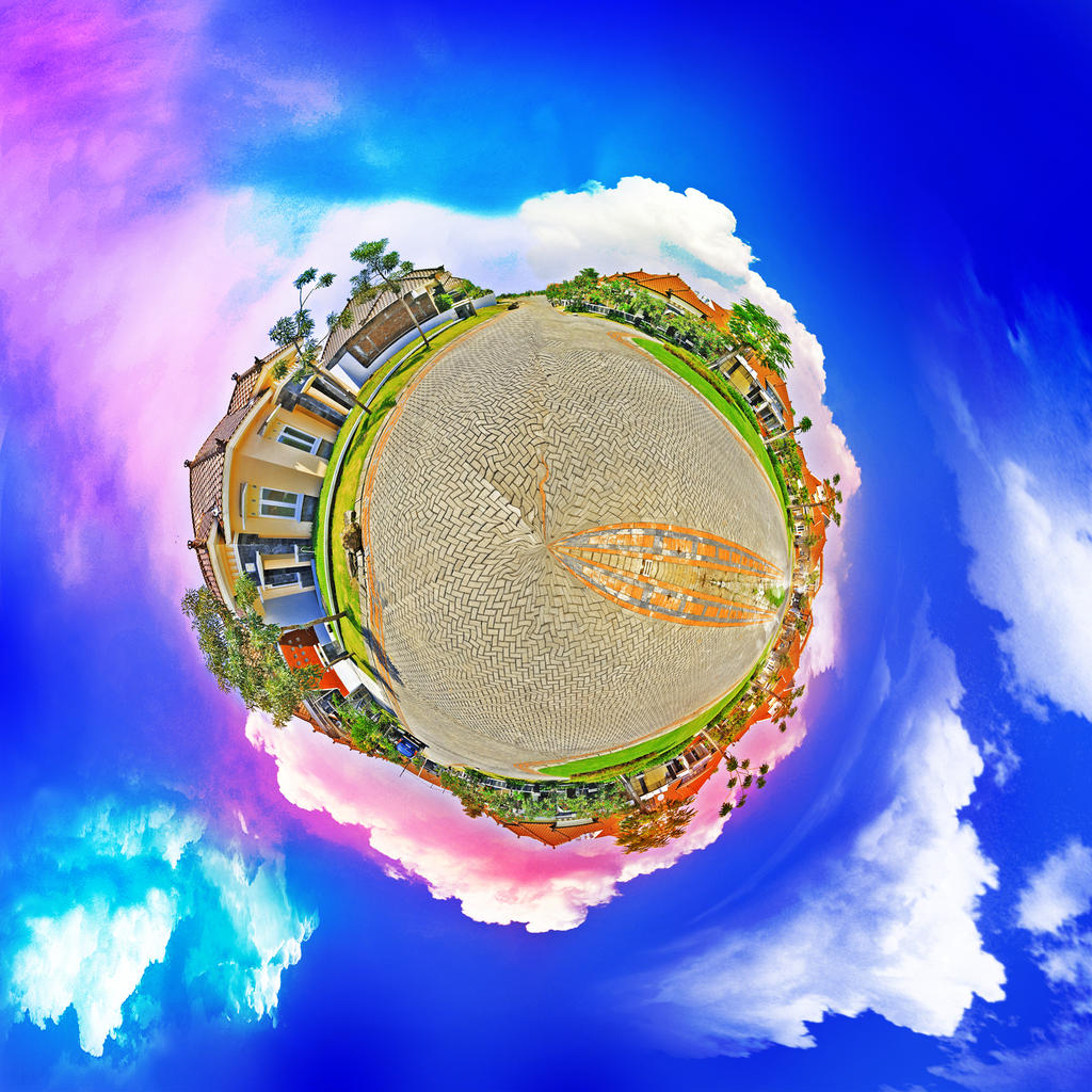 My Little Planet by adhiwangsa