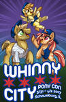 MLP: Whinny City Con Book