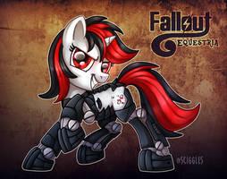 Fallout Equestria: Blackjack by Sciggles