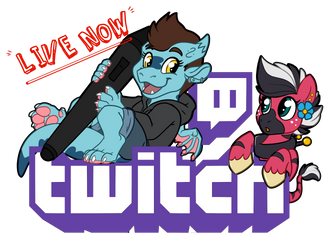 Chibi/Pony Stream Live Now! SLOTS OPEN by Sciggles