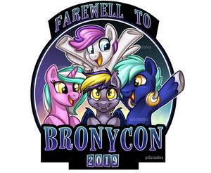 Farewell to Bronycon Badge