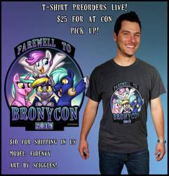 Farewell to Bronycon Shirt