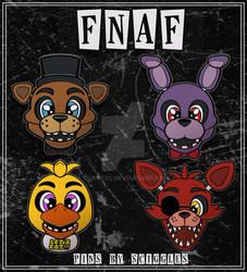 Kickstarter: FNAF Pins