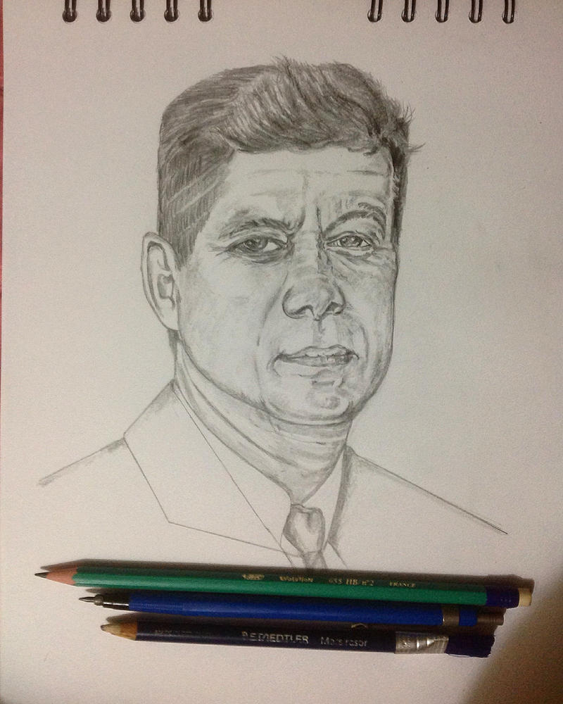 John F.Kennedy by technoborg