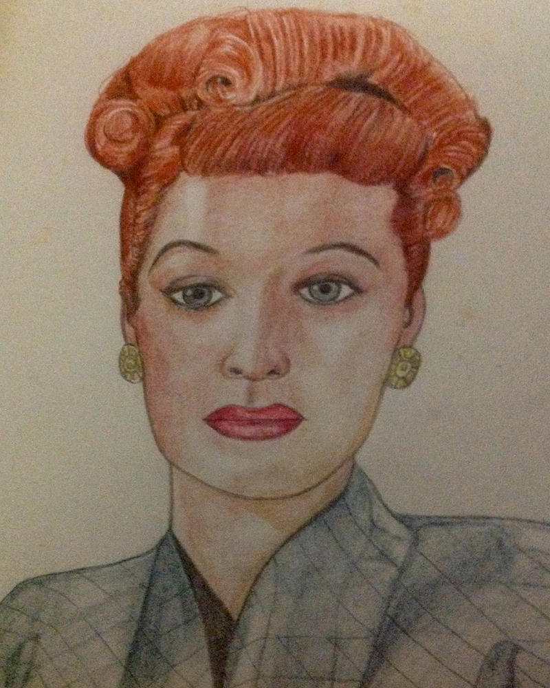 Lucille Ball by technoborg