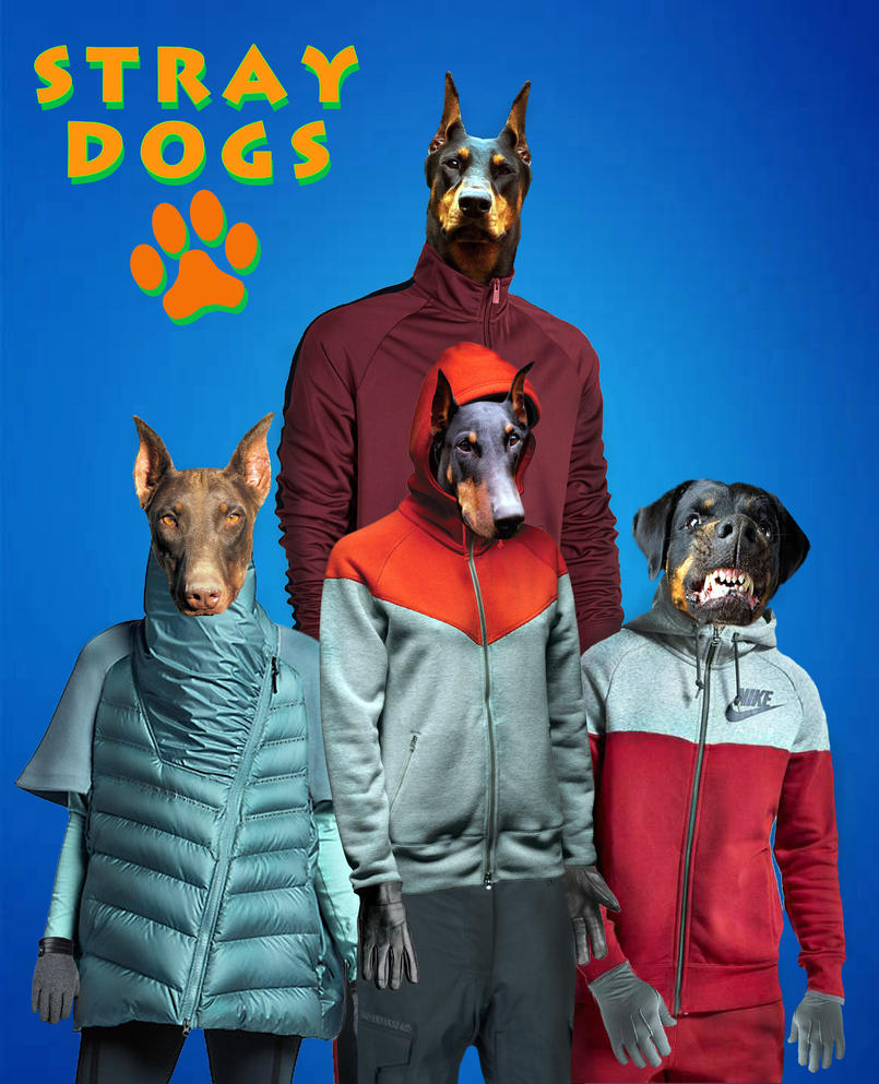 Stray Dogs by technoborg