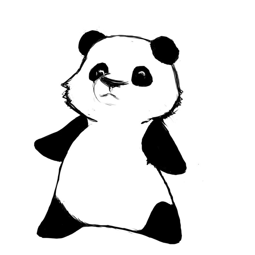 Cute chibi panda by LinaHappyMushroom on DeviantArt