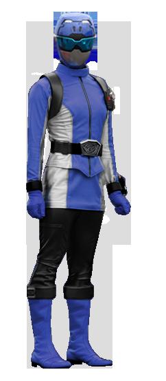 Go-buster Blue female by IAlkemicI on DeviantArt