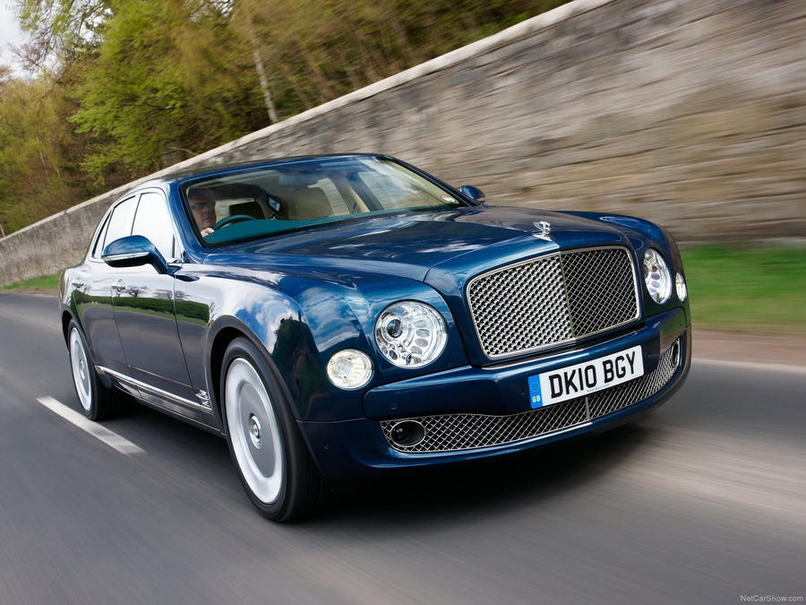 Bentley Mulsanne Wallpaper by Deepskyer
