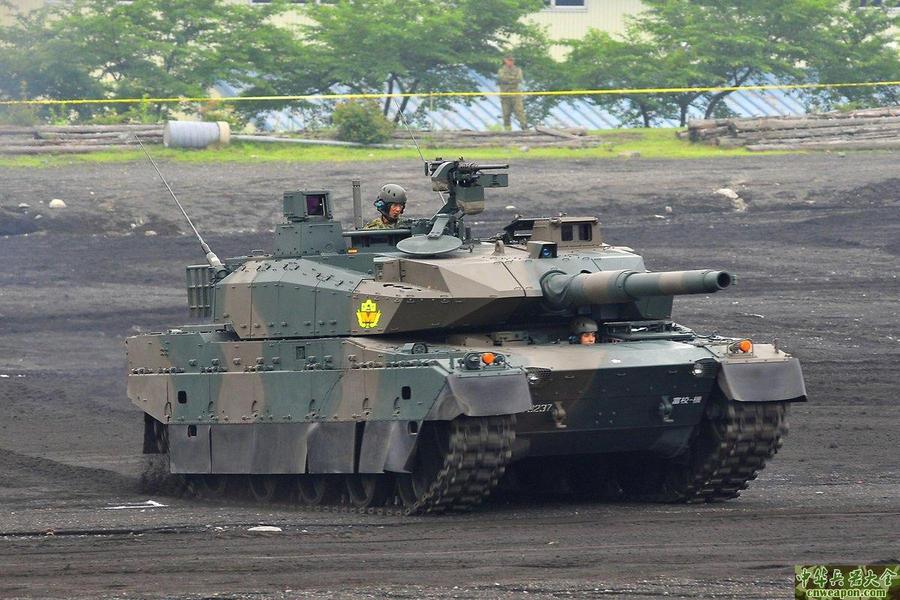Japan 10 type MBT by Deepskyer