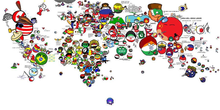 World flag map by deepskyer on deviantart world flag map by deepskyer gumiabroncs Choice Image