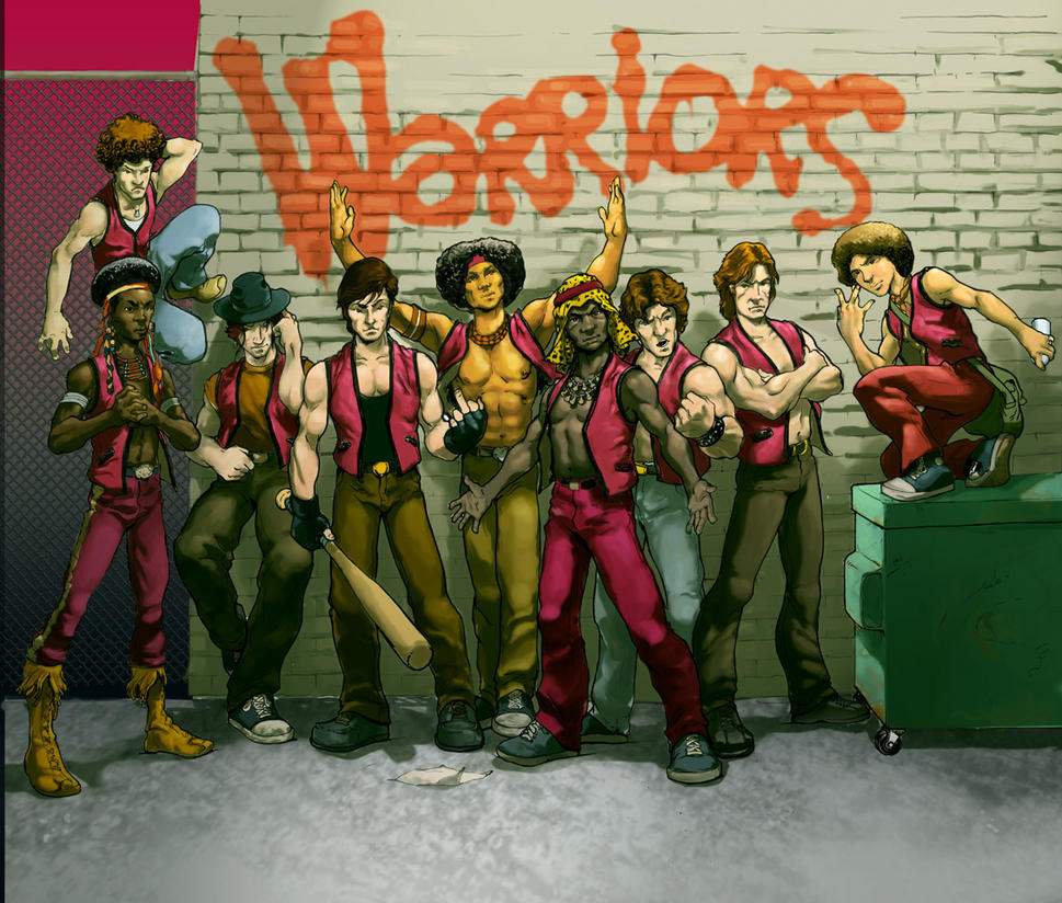 Warriors Come Out And Play Movie Cast: The Warriors By Gryphta On DeviantArt