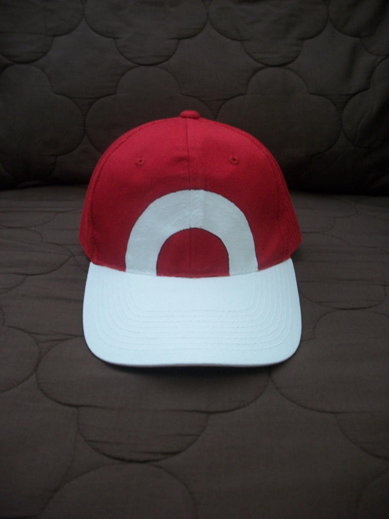Pokemon Trainer Red's Hat by PrinceKaname