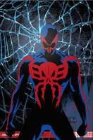Spider-Man 2099 by Hellequin0