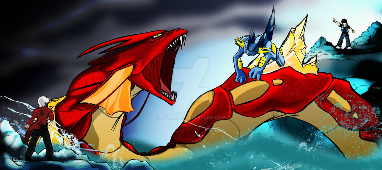 NPF - Gyarados vs Swampert by Jyuugo