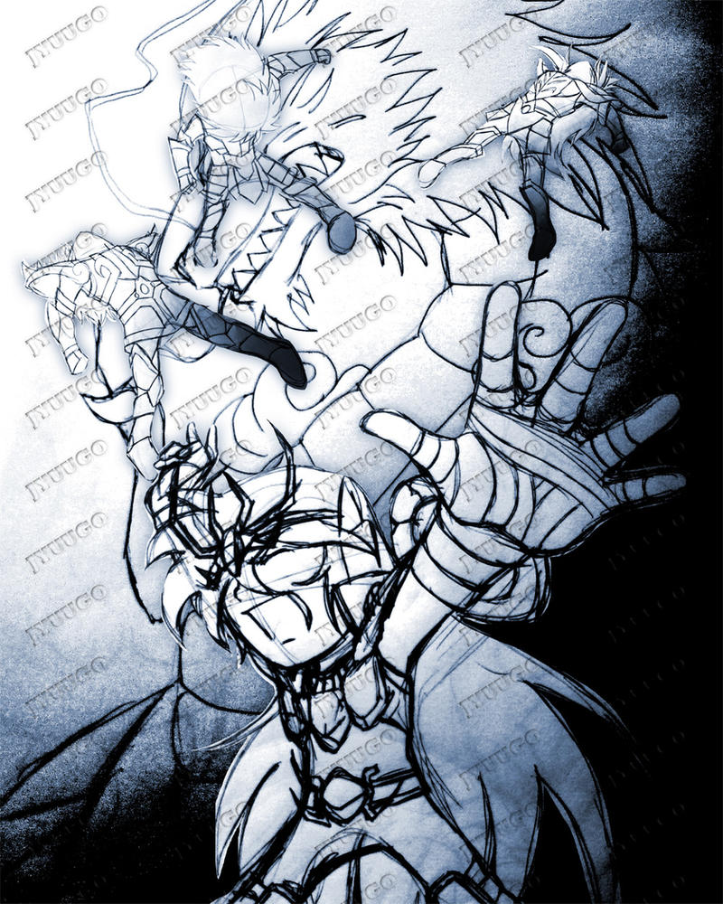 ShoRyuHa - Sketch by Jyuugo