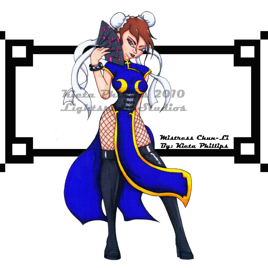 Mistress_Chun-Li by Animator480
