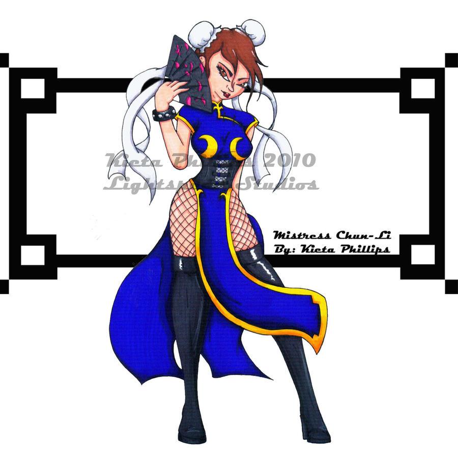 Mistress_Chun-Li by KPhillips702