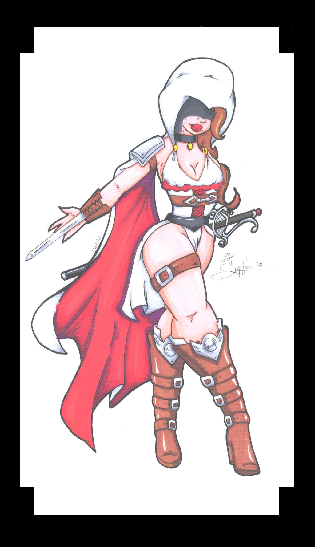 Assassins' Creed female version by KPhillips702