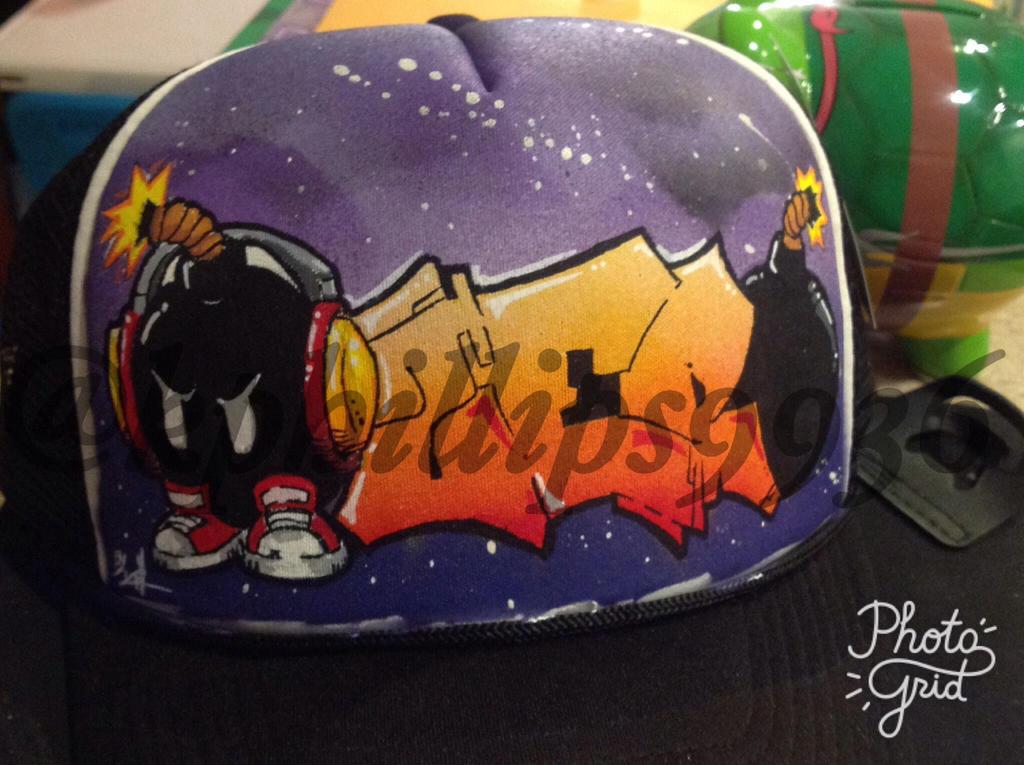Bob-omb custom cap by KPhillips702