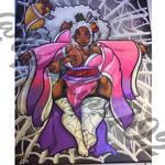 Tsuchigumo bbw painting by KPhillips702