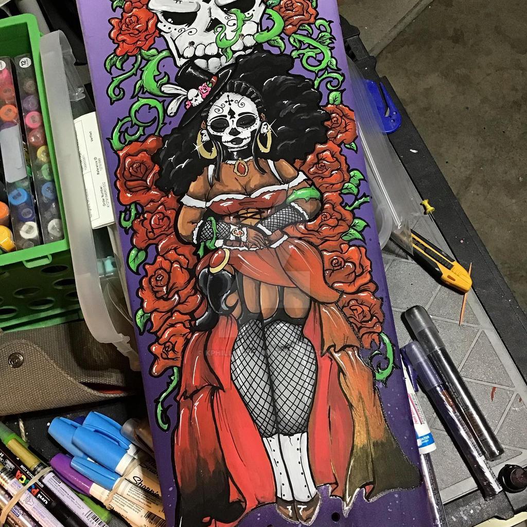 Voodoo Coffin skatedeck
