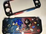 Switch-lite case, Sonic X Shadow