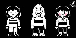 UNDERTALE - The Dreemurr Children