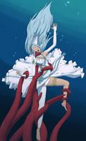 Azura into the Depths [Commission] by UW-FnarFnar