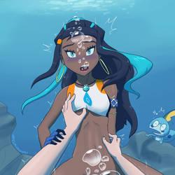 Nessa Underwater Pt.2 by UW-FnarFnar