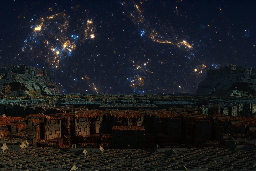 alien industrial complex by tsahel