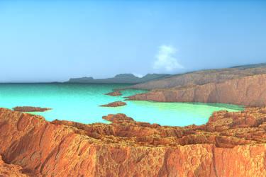 desert coast by tsahel