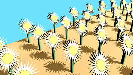 mecanichal flower