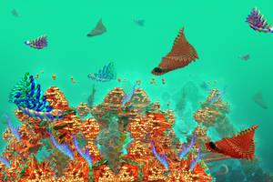 coral reef on Newearth