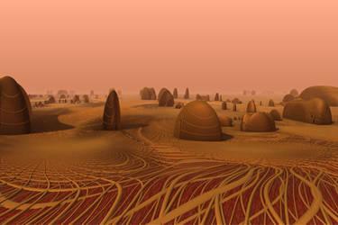 monolithes on Mars