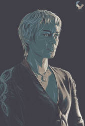 Cersei Lannister by kyouzins