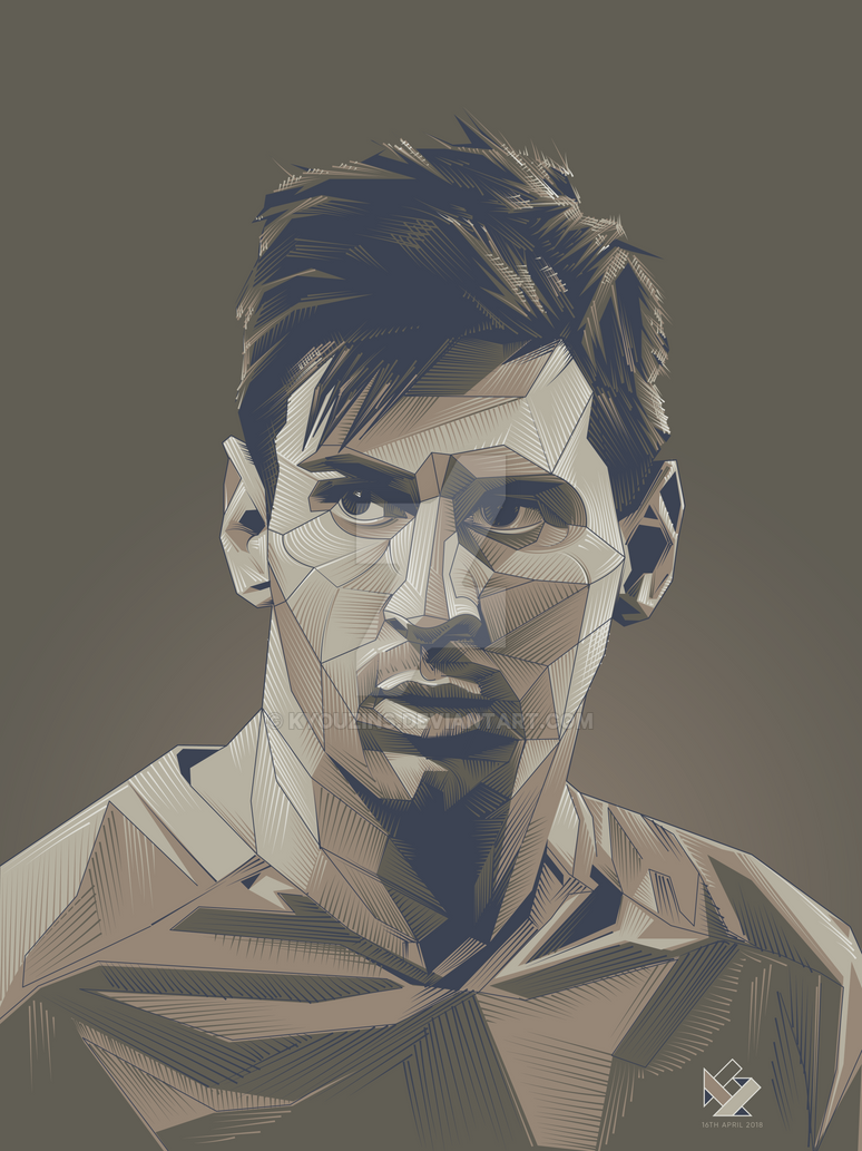 Lionel Messi by kyouzins